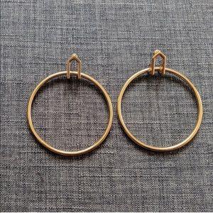 Zara Gold Hoops